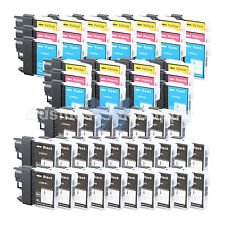 60 PACK LC65 Ink Set for Brother MFC-5890CN MFC-5895CW MFC-6490CW MFC-6890CDW