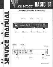Kenwood Service Manual für Basic C 1