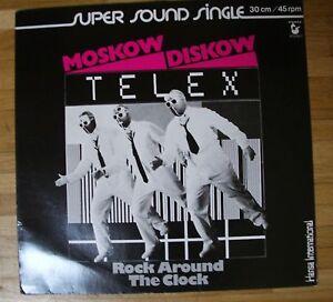 """TELEX Moskow Diskow 12""""-Maxi/GER"""