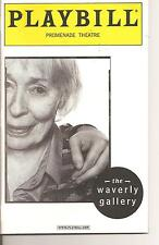 The Waverly Gallery (2000) Playbill, S- Eileen Heckart - Her last work! Rare