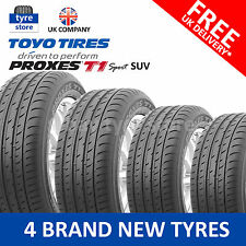 4X New 255/60/18 Toyo Proxes T1 SPORT SUV 112H XL 2556018 255 60 18 (4 TYRES)