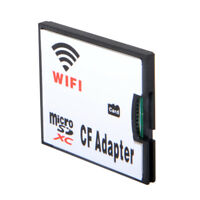 USA WIFI Memory Card TF Micro SD to CF Compact Flash Card Kit Adapter