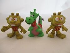 ASTROSNIKS lot 3 PVC Figures Bully McDonalds Happy Meal Toys 1983 Robot +