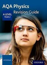 AQA A Level Physics Year 2 Revision Guide by Jim Breithaupt (Paperback, 2017)