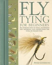 GATHERCOLE FISHING BOOK FLYTYING FOR BEGINNERS 50 FAILSAFE FLIES + INSTRUCTIONS
