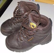 Akademiks Hugo Youth Todder SZ 11 Brown Hiking Boots A-692