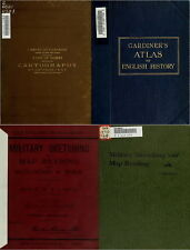 140 RARE OLD BOOKS ON CARTOGRAPHY, MAPS, MAP MAKING, ANCIENT MAPS & ATLAS ON DVD