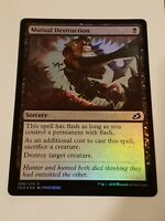 Glyph of Destruction Legends HEAVILY PLD Red Common MAGIC MTG CARD ABUGames