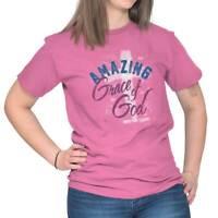 Amazing Grace of God Christian Jesus Christ Unisex T Shirt Tee For Women