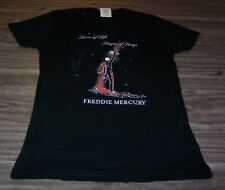 WOMEN'S TEEN QUEEN Freddie Mercury Lover Of Life T-shirt SMALL Band NEW