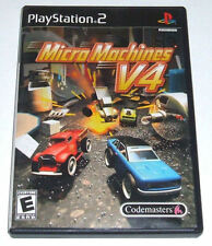 Micro Machines V4 (Sony PlayStation 2, 2006) RARE OOP
