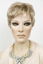 Light Brown Blond/Light Golden Blond Blonde Short Monofilament Jon Renau Wigs