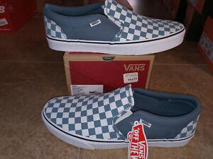 NEW Mens Vans Asher Slip-On Shoes, size 11.5