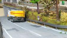 GUARD RAIL viadotti e cavalcavia e autostrada H0 SCALA 1/87 PER PLASTICO TRENINI