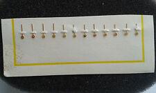 Chronograph  Valjoux, landeron, venus,lemania.vintage gold watch hands