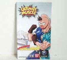 Ultimate Muscle Legends vs New Generation Manual Only NO GAME Nintendo GameCube