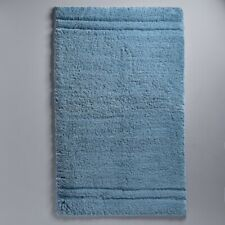 Simply Vera Vera Wang Signature Cotton Bath Rug in Ocean Blue 24 in.x40in.