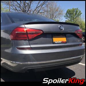 VW Passat verticale Carbone Optique autospoiler Heckspoiler aileron gueule Retrofit Kit