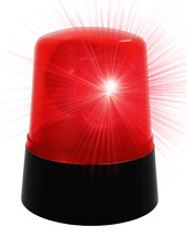ROTATING POLICE LIGHT PARTY LIGHT FLASHING LIGHTS FOR PARTIES FUN DISCO LIGHTING
