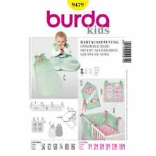 Burda Kids SEWING PATTERN 9479 Baby Sleeping bag & Nursery Accessories 1m-18m