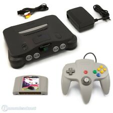 N64 / Nintendo 64 - Konsole + FIFA 98 + Controller + Zub.