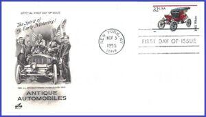 """USA5 #3023 U/A ARTCRAFT FDC   """"1901"""" White"""