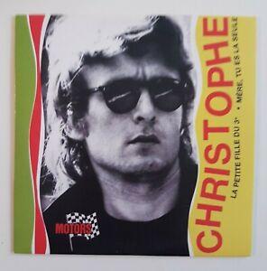 hommage à CHRISTOPHE (1970) ♦ CD Single Réplica 45t. ♦ LA PETITE FILLE DU 3éme