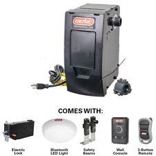 Genie 6070 Wall Mount Garage Door Opener Battery BackUp Capable Soft Star Close