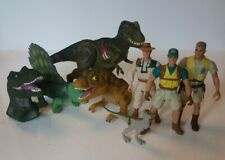 Vintage Jurassic Park Kenner Figure Joblot Bundle Action Figures Finger Puppets