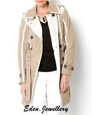 Polyester Trench Dry-clean Only Regular Coats & Jackets for Women