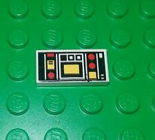 Lego Vintage 1x2 Flat Computer Panel Tile Classic Space Plate x 1 piece