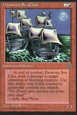 MTG Magic - Terres Natales  - Dwarven Sea Clan -  Rare VO