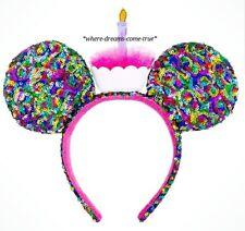 Disney Parks Mickey Mouse Birthday Ear Headband NEW