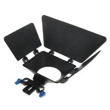 DP010 Professional Swing Away Matte Box for Follow Focus 15mm Rail Rod Rig