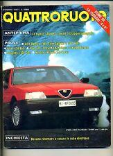 QUATTRORUOTE # Anno XXXII N.384 Ottobre 1987 # Ed.Domus Rivista Mensile