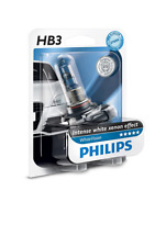 1 UNA Lampada Lampadina Luce PHILIPS HB3 9005 (P20d) White Vision 12V 55W 3700k