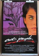 CAT PEOPLE~STYLE B~1 SHEET~ORIGINAL~MOVIE POSTER~1982~NASTASSIA KINSKI~MCDOWELL