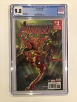 Avengers #1 CGC 9.8 Mark Waid - Alex Ross cover The Falcon - Spider-Man