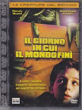 IL GIORNO IN CUI IL MONDO FINI - DVD