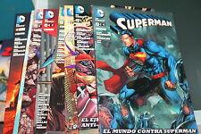 Superman Nuevo Universo DC Reedicion Trimestral del 1 al 8 ECC NuDC New 52