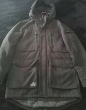 Jack Jones Core Parka Jacket Size M Collectors Edition Hooded Durable
