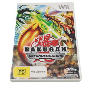 Bakugan Defenders Core Nintendo Wii PAL *Complete* Wii U Compatible - W/TRACKING