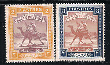 Sudan Scott     86  -  87   Mint Never Hinged