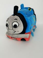 "Thomas The Tank Engine Train 16"" Plush Bean Bag Microbead 3D Pillow Gullane"