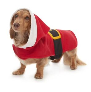 Dog Santa Suit Fits 12-20 pounds NEW Christmas Outfit Small up to 20 lbs Pajamas