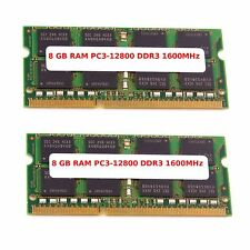 16gb(2x8gb)Ddr3 Ram Memory 1600 Mhz Pc3l-12800 So-Dimm for Lenovo x 230