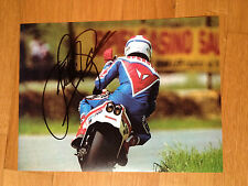 FREDDIE SPENCER HONDA NS500 HAND SIGNED PHOTO 21X27 CM ROBERTS LAWSON