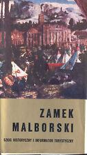 Franaszek, Solak, Zamek Malborski, Marienburg Ordensburg a Weichsel, polnisch 72