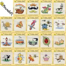 Cross Stitch Kit Make your own Counted Cross Stitch Mouseloft Tiddlers