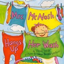 Kids hardcover:Mrs. McNosh Hangs Up Her Wash-newspaper,puppy,kite,wreath,more!